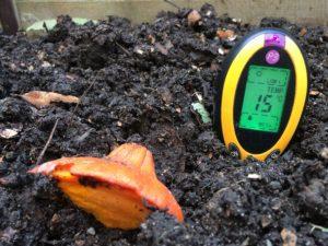 teplota - kompost